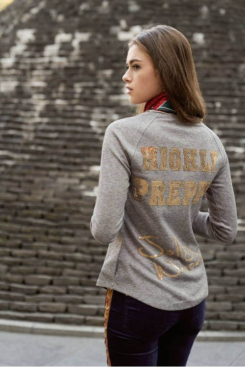CAMISETA JOLLY WOODS SEQUINS - HIGHLY PREPPY