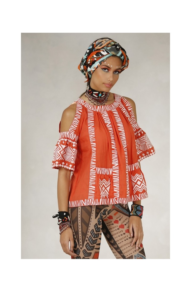 TOP BORDADO TRIBAL