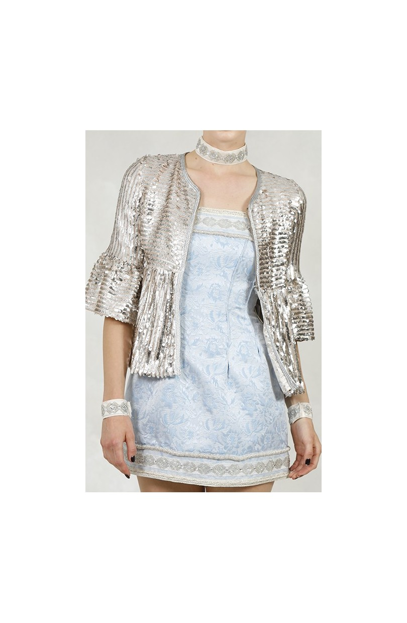CHAQUETA SEQUINS LISA